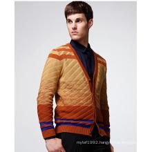 Fashion Clothing Gradient Colour Man Cardigan