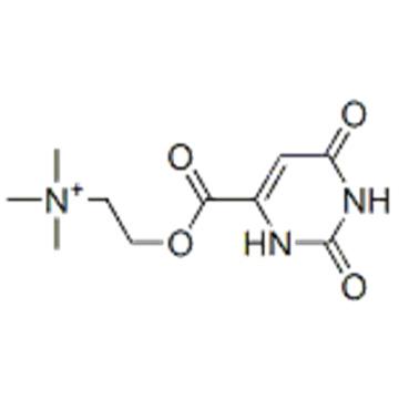 Ethanaminium,N,N,N-trimethyl-2-[[(1,2,3,6-tetrahydro-2,6-dioxo-4-pyrimidinyl)carbonyl]oxy] CAS 16978-42-0