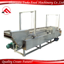 Chicken Nugget Continuous Stainless Steel Conveyor Frying Machine