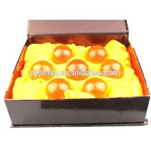Bolas de cristal facetadas de alta calidad de 57 mm Bolas de cristal de Dragon Ball con dragón Z