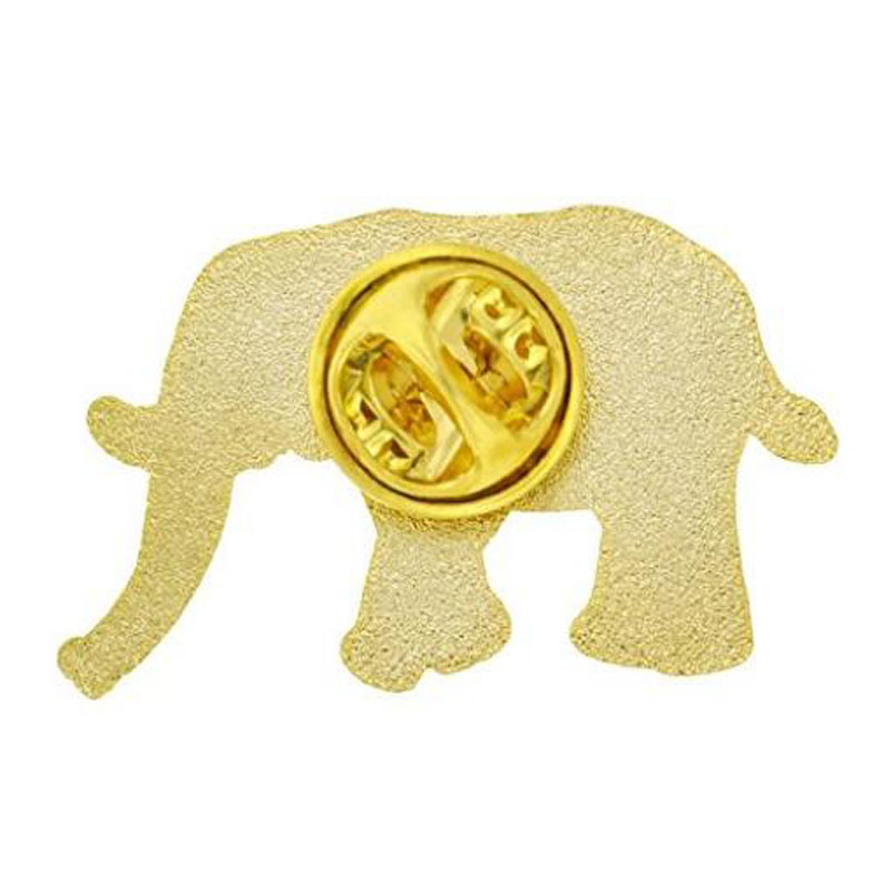 Elephant Animal Enamel Lapel Pins
