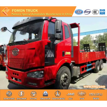 FAW J5P 260hp 6X4 platform lorry best selling