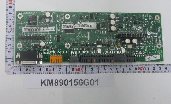 KONE KDL32 Drive DCBM CPU Board KM890156G01