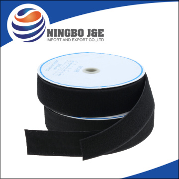 Black color hook and loop velcro tape