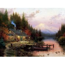 Décor de maison Thomas Oil Painting Reproduction Wall Art (ERL-040)