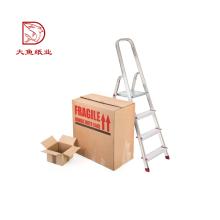 Reciclable promocional de impresión personalizada caja de papel liso de almacenamiento
