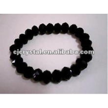 Black Diamond Beads Bracelet