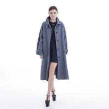 Manteau de cachemire de style classique de 2019