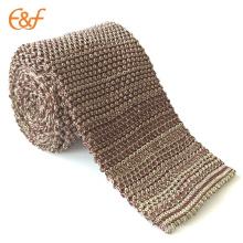 Nouveaux ensembles de cravate de cou de tricot de crochet de mode pour la noce