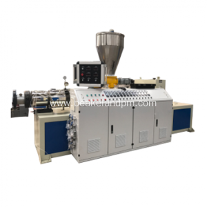 conical double screw extruder for pvc wall panel