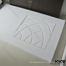 base de chuveiro acrílica personalizada, base de chuveiro de pedra artificial