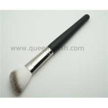 Étiquette privée poignée en bois brosse à pinceau à lame cosmétique