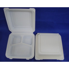 9inch Biodegradable Clamshell Lunch Box