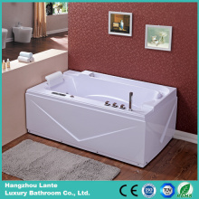 Luxury White Bathtub Massage Tub 1700mm Long (TLP-679)