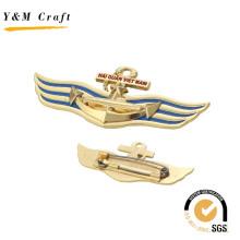 Special Design Colorful Metal Lapel Pin with Debossed Logo