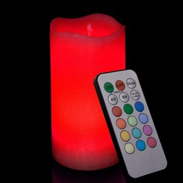 LED candle with remote