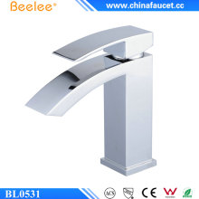 Beelee Bl0531 Modern Brass Waterfall Bathroom Basin Faucet