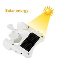 Ejiji Detachable Solar Fan