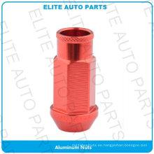 Tuerca de aluminio de la rueda para el coche