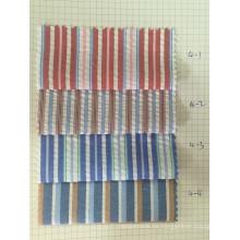 100% Baumwolle Y / D Streifen Stoff (ART. NR. UYDFY4-1-4)