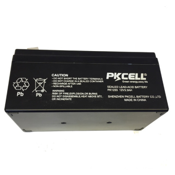 Sealed Lead Acid Battery 12v 3.3ah