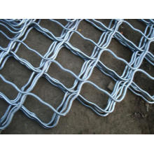 Shopping Store Used Galvanized Beautiful Grid Iron Wire Mesh