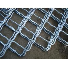 Loja de compras Grelha de arame de ferro gradeada galvanizada usada