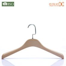 Eisho Flocked Velvet Plastic Coat Hanger