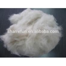 fibra animal cardada y lana de zorro depilado 17.5mic 28mm