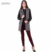 Oversize Vest Winter Office Jacket Lady Coat for Women