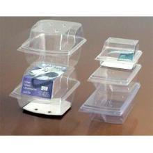 Boîte d'emballage en plastique transparent pour le stockage des aliments