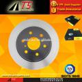 Carro rotor de freio de disco dianteiro, peças de carro do sistema de freio, autopeças