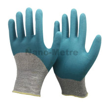 NMSAFETY nitrile gloves printed with logo