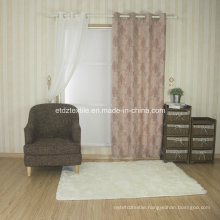 Cantonic Yarn Piece Dyed Fabric Curtain