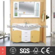 Modern Landing Bathroom Cabinet PVC Bathroom Cabinet