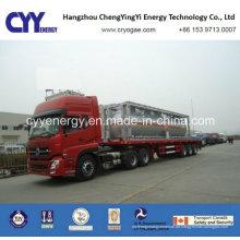 Neuer Sauerstoff-Stickstoff-Argon-Cabochon-Dioxid-kryogener Tankwagen