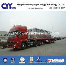 New Oxygen Nitrogen Argon Cabochon Dioxide Cryogenic Tank Truck
