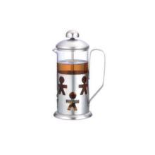 Prensa de té de vidrio de 1000 ml para uso diario