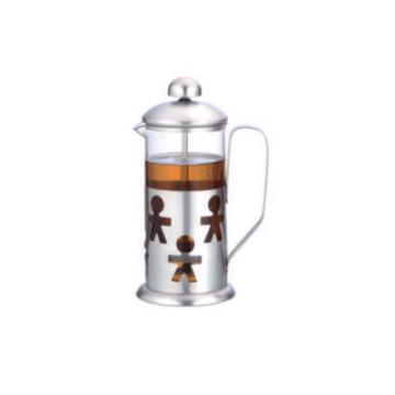 Presse à thé en verre de 1000ml pour un usage quotidien