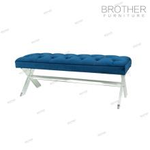 Furniture Supplier Upholstered Modern Indoor Wood Bench