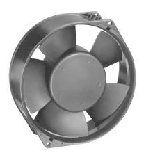 150mmx150mmx55mm Impulsor plástico de alto rendimiento DC15055 Ventilador axial