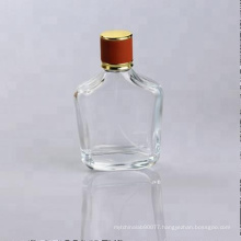 100ml clear glass fancy perfume bottle