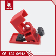 Top Manufacturer !! Wholesale! PP & PA Clamp-on Safety Bloqueio do disjuntor ELectric BD-D11