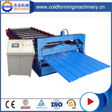 Trapezoidal Roof Sheet Metal Cold Roll Forming Machine