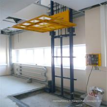 Sjd3.0-6 ascenseur hydraulique d'entrepôt de rail de guide