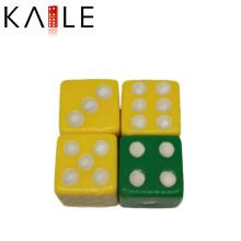12 мм прямые угловые набор кубиков с белыми точками