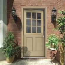 Hemlock Wood Prehung Front Door