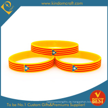 Personalisierte heißer Verkauf Silikon Armband & Armband