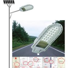 Luz de calle solar 24W, hogar o al aire libre usando la lámpara solar, luz al aire libre del jardín