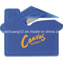 2015 Venda quente de plástico envelope carta abridor de cartão (LP499)